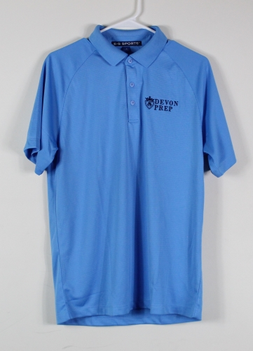 02. Light Blue Polo